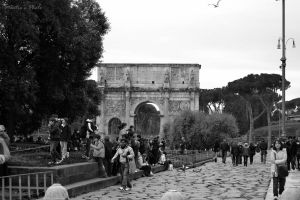 Arch of Constantine by MartieRM
