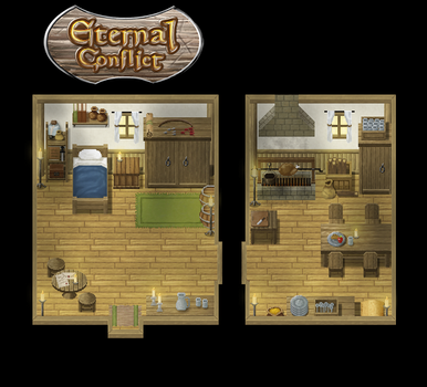 Eternal C Peasants Home by ChampGaming
