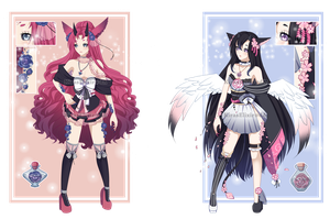 ADOPTS: Zeraphi - Evehlos 01 [ CLOSED ] by KirasElixir