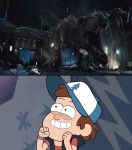 Dipper Pines Reacts To The Return Of Rexy by DanielArkansanEngine