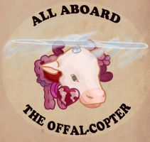 All aboard the offal-copter! by EleanorAnsell
