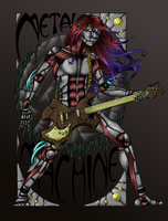 Metalmachine colored by CaptainMetal