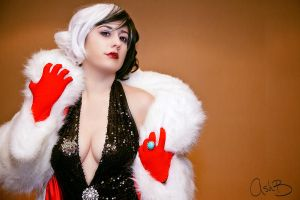 Cruella DeVille by AshBimages