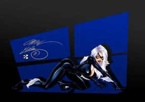 Black Cat by Izabela-Wilson