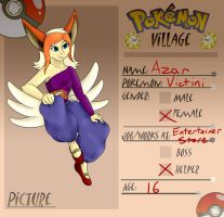 Pokevillage: Azar by Commy-Lover