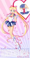 Modern Design Sailor Moon: by Drachea Rannak by Sugar-Senshi