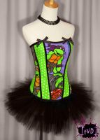 TMNT Corset by TheVintageDoctor