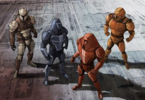 Mandalorians by IsaacClarke7