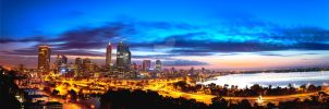 Early Morning Over Perth by jcantelo