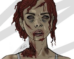 Drawing Exercise: Zombie by Bonnie-Wonder