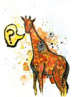 Why? said the Giraffe by T-EE
