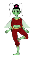 || Mantis Princess || by Tiyuh