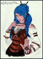 Karou Daughter of Smoke e Bone by Skayler
