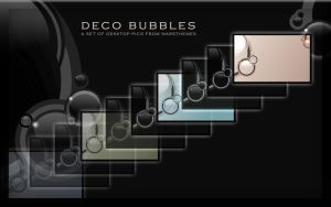 Deco Bubbles Desktop Pictures by marsmuse