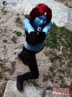 Mystique Cosplay by BlastXX