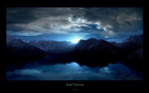 Blue Morning by stg123