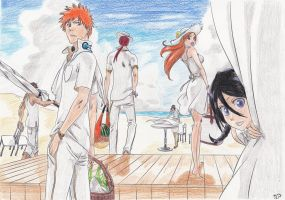 Bleach Summertime by Shiroichi-chan