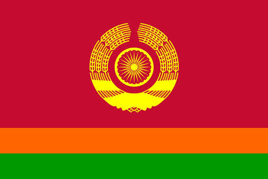 Another Flag of a Communist India by TheWeirdSerb