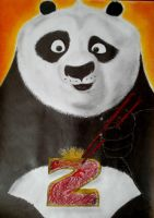 Kung Fu Panda drawing by SuperNikolai1996