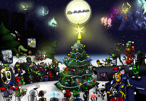 The Fantastic Christmas party 2013 by Finjix