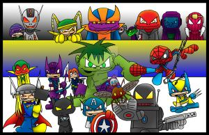 Avengers commission by 5chmee