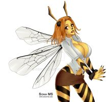 Corinna Hase - Honey Bee by Thrythlind