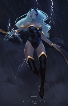 Storm by LoreCoffee