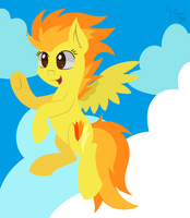 Spitfire in the Sky by wildberry-poptart