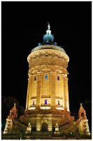 Watertower Mannheim by Fox82