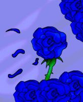 Blue Rose by MultiMouths