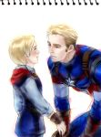 young thor and steve by drchopper7