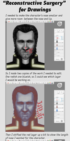 Tutorial: Reconstructive Surgery Digital Art by cloudlakes