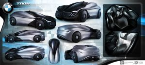 2030 BMW TRON by emrEHusmen