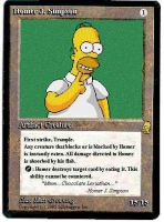 homer card by miburo861