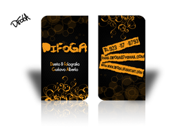 Bussines Card DiFoGA by DiFoGA