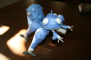 Papercraft Tachikoma 14 by Helmut-de-Bouffy