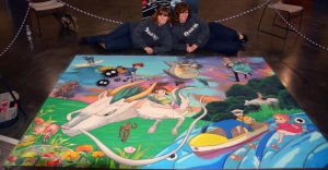 Tribute to Studio Ghibli with Artists by ChalkTwins