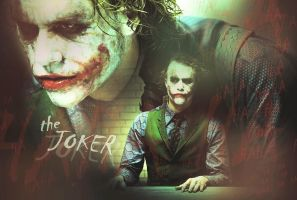 The Joker - HAHA Wallpaper by TerylSG