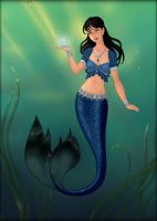 Goddess Maker ~ Mermaid Jessica Eagle by MiniatureBlueOwl