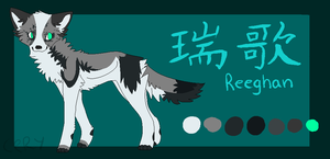 Reeghan ref sheet by piratesails