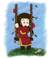 (Kiriban) Chibi China by Ask-China-Hetalia