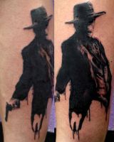 Doc Holliday by nickholetattoos