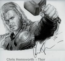 Chris Hemsworth - Thor by sebus195