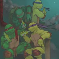 TMNT-Night Drink by tmask01