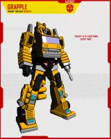 AUTOBOT GRAPPLE by F-for-feasant-design