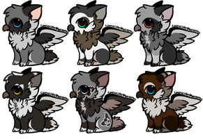 Cute Griffins Adoptables :CLOSED: by Okami-Heart