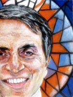 Carl Sagan - ET by JimmyDemello