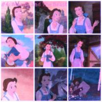 Beauty and The Beast collage by SweetHea