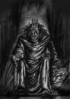 Morgoth and the Silmarilli by lomehir