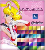 Sailor Moon Gradients by harleshinn